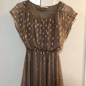 LUSH Cocktail Dress with Shimmer Detail Size S